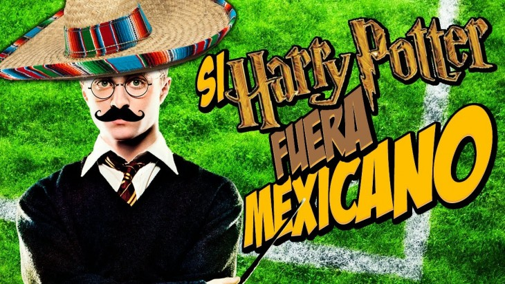 HARRY POTTER VESTIDO DE MEXICANO