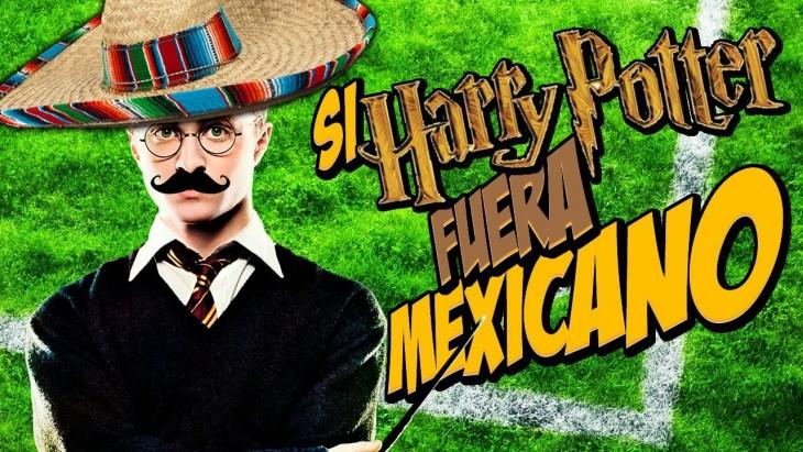 HARRY POTTER VESTIDO DE MEXICANO