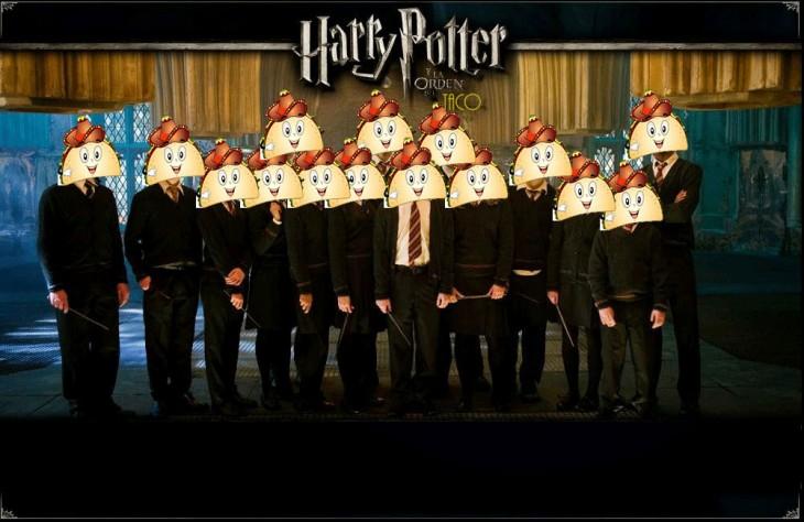 HARRY POTTER Y LA ORDEN DETACOS AL PASTOR