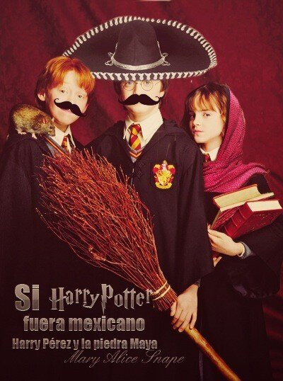 HARRY POTTER Y LA PIEDRA MAYA