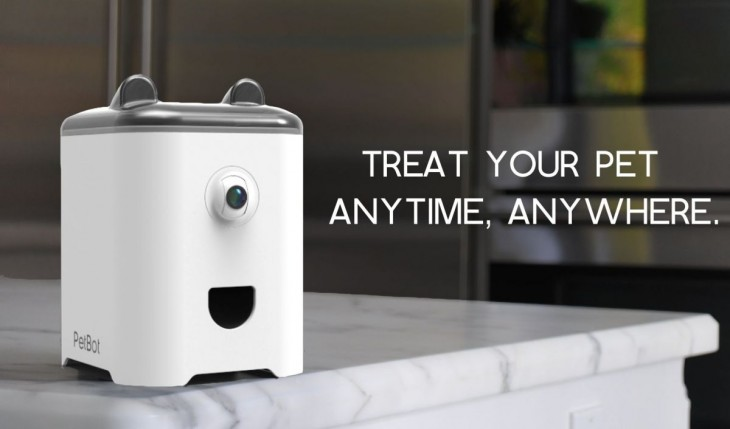 PetBot la cámara para sacar selfie a tu mascota