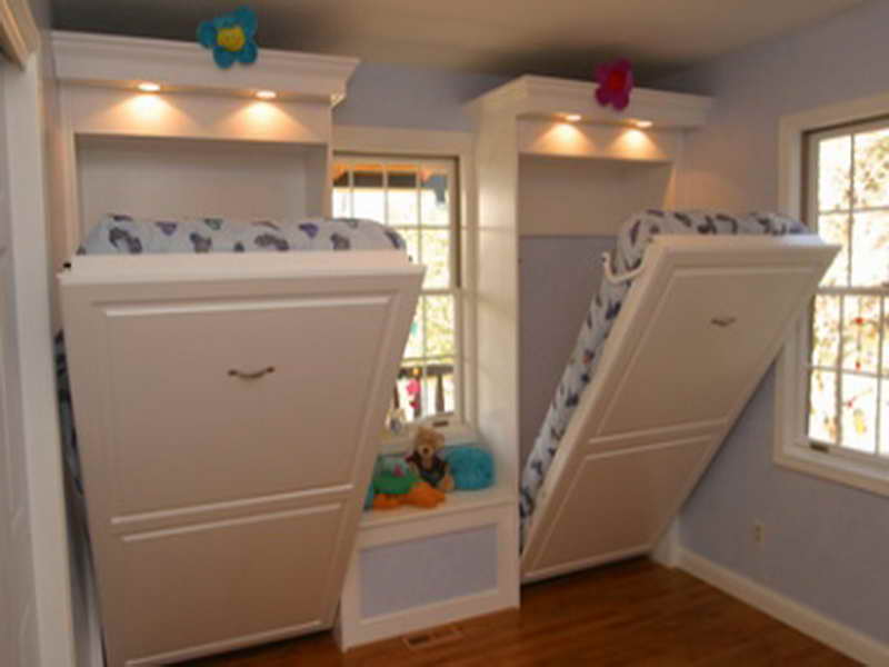 30 sencillos trucos para decorar tu casa f cilmente - Camas pegadas ala pared ...