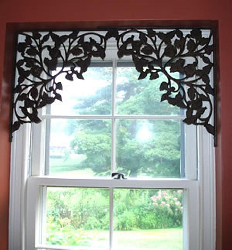 en lugar de cortinas decora tus ventanas con bastidores