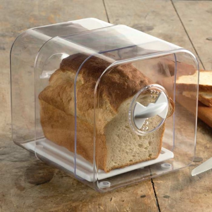 Contenedor para mantener fresco por más tiempo el pan