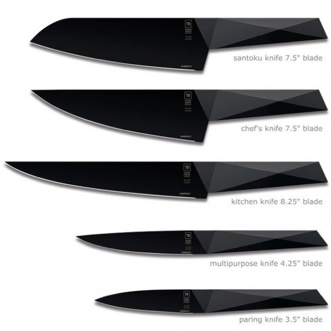 cuchillos resistentes que necesitarán afilarse cada 25 años