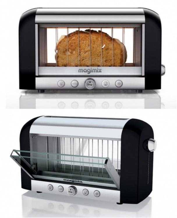 Tostadora Magimix que permite ver como quieras dejar tu pan