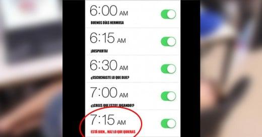 Muchos problemas de poder levantarnos temprano