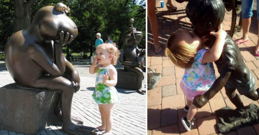 La inocencia de un niño traspasa todo lo inimaginable una muestra de sus percepciones del mundo con objetos inanimados