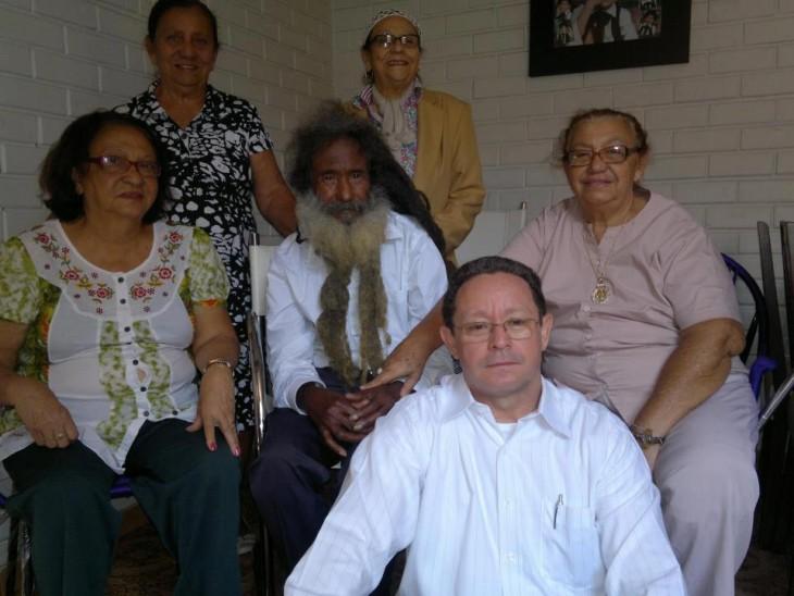 familia de raimundo en el reencuentro