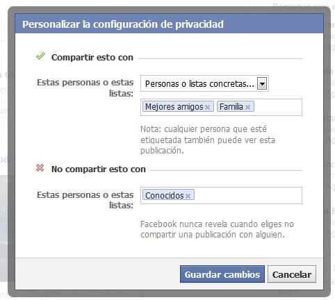 cómo editar la privacidad de fotos en facebook
