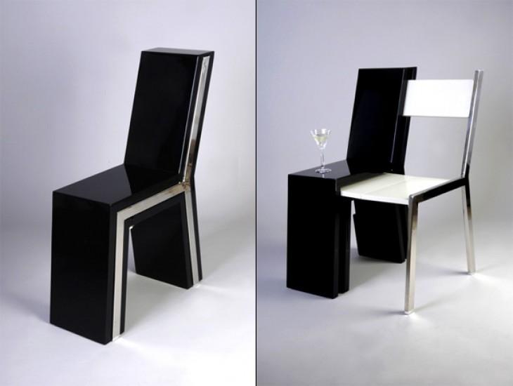 silla dos en una
