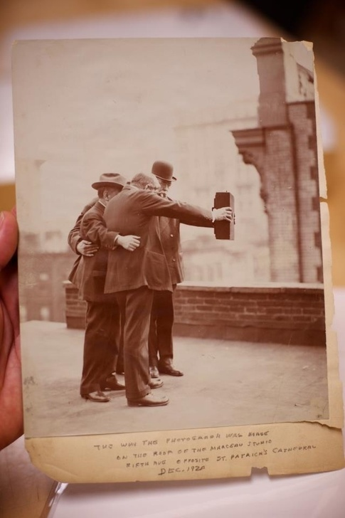 selfie grupal en 1920