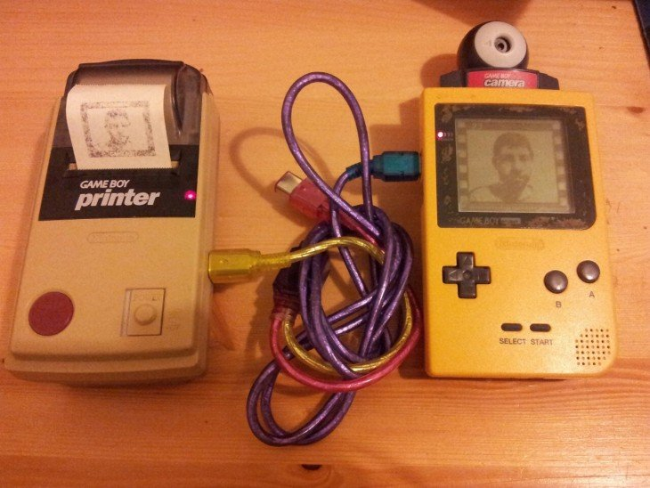 selfies estilo gameboy