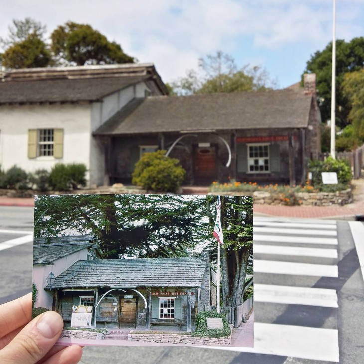 California's First Theatre in Monterey, California | April 1979 & May 2015