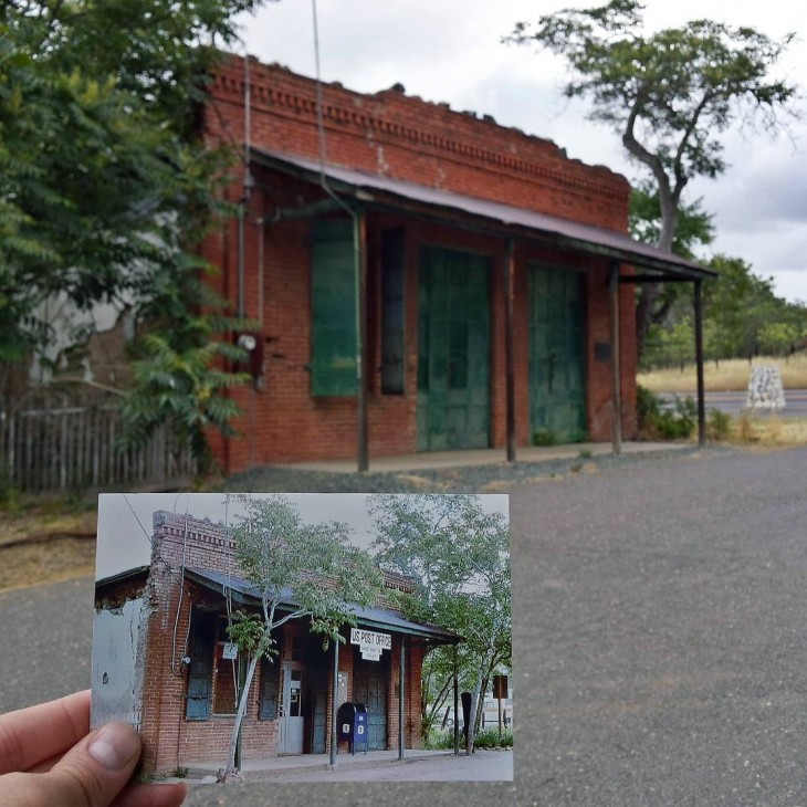 ost Office in Chinese Camp, California | April 1979 & May 2015