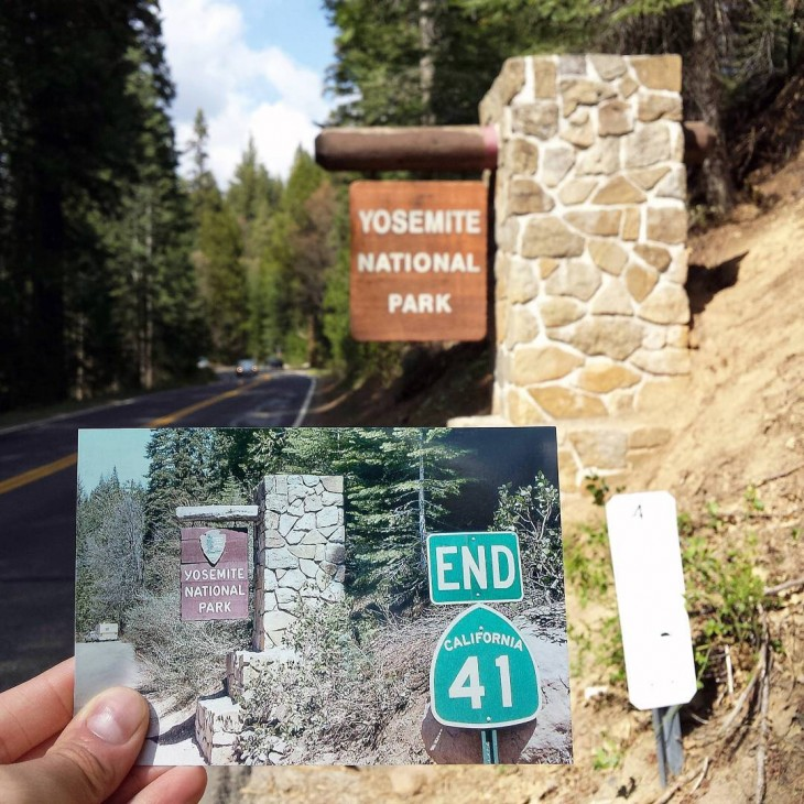 Yosemite National Park, California | April 1979 & May 2015