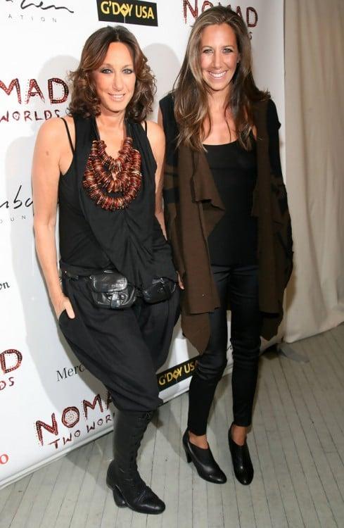 Donna Karan y Gaby 2015