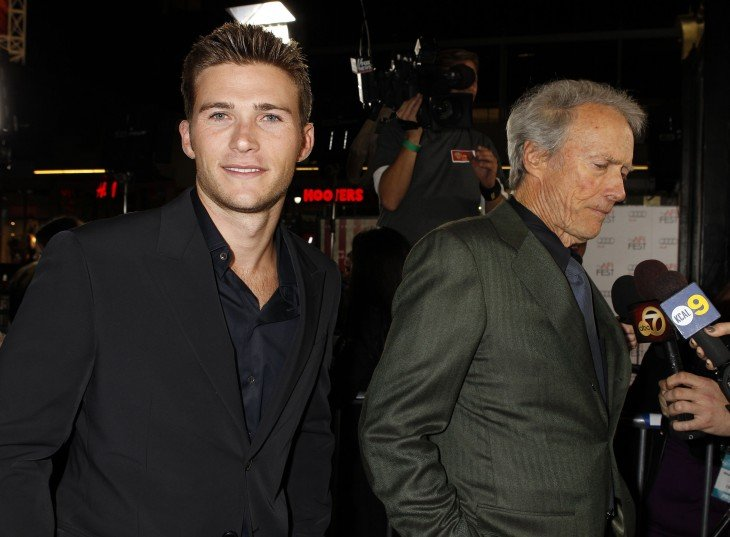 Clint Eastwood e Scott 2015