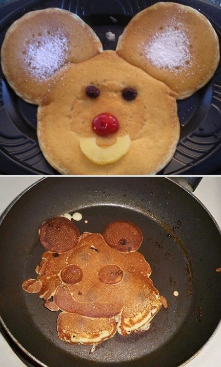 hot cakes mal hechos