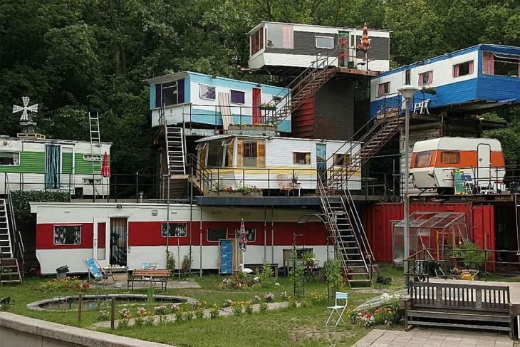 Vecindario de campers