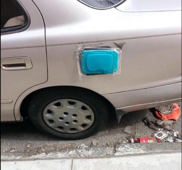 tapadera para la gasolina