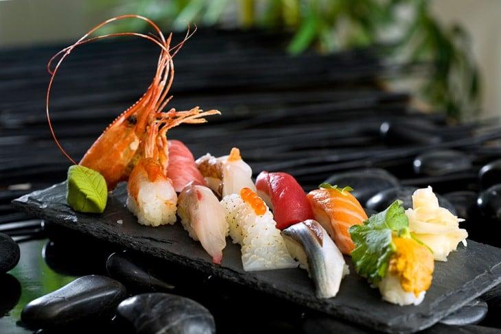 O melhor sushi esta Missa, New York
