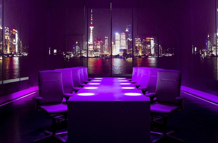 mesa lista para servir de Ultravioleta, Shanghai, China