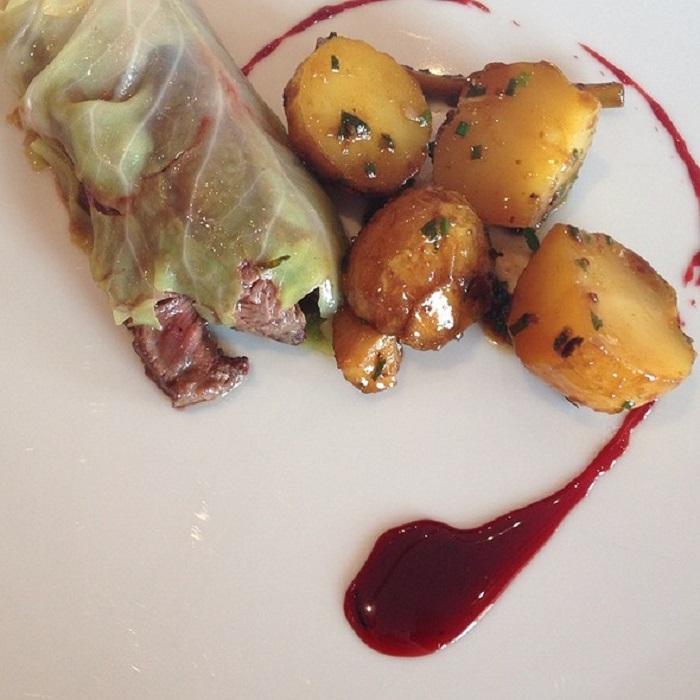 Comida de uno de los restaurantes más elegantes del mundo