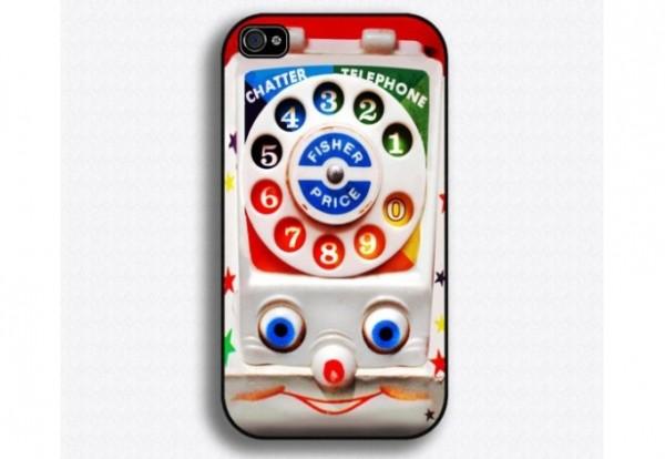 funda para celular en forma de juguete de los noventa