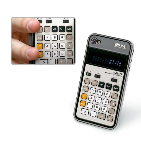 funda ´para celular en forma de calculadora cientifica
