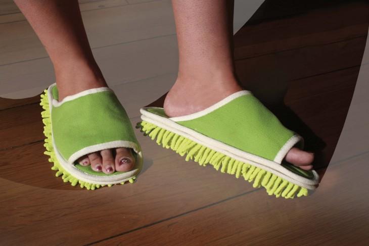 zapatillas limpia pisos