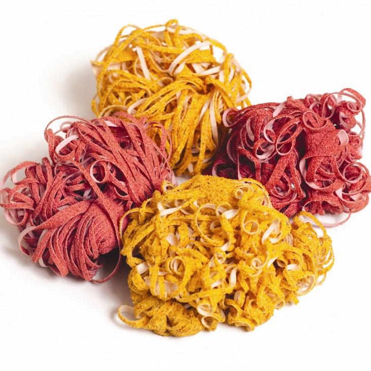 tallador en forma de espaguettis
