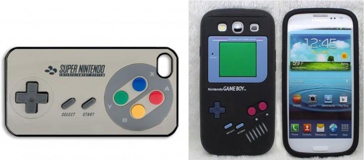 fundas para celulares con forma de videojuegos de los 90's