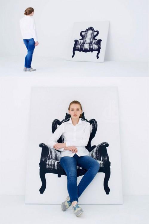 mueble de canvas