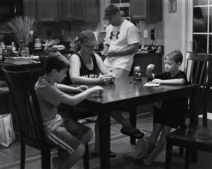 familia adicta a la tecnología