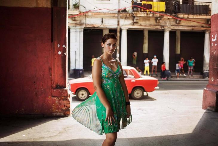 MUJER BELLA DE LA HABANA CUBA