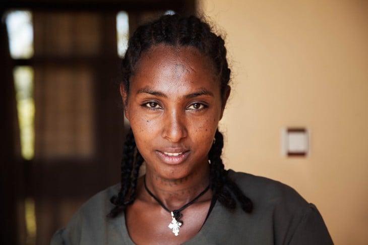 MUJER BELLA DE ETIOPIA