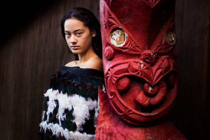 BELLEZA FEMENINA DE NUEVA ZELANDA