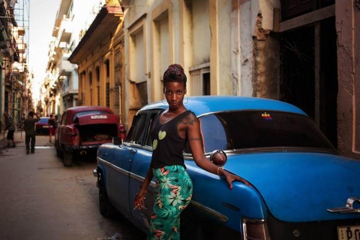 MUJER DE LA HABANA CUBA