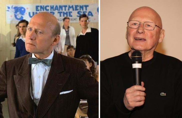 James Tolkan antes y después del personaje en la película de 'Volver al futuro'