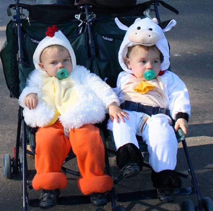 20 disfraces de halloween para beb s que amar s - Disfraces para gemelos ...