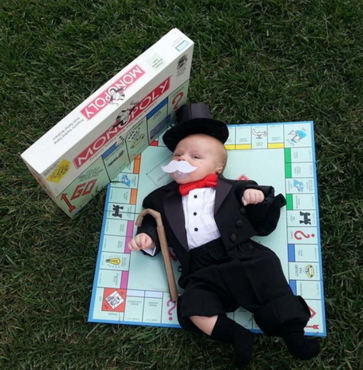 disfraz del señor de monopoly
