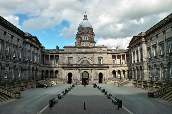 Universidad de Edimburgo en Edimburgo, Escocia