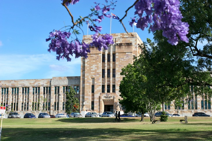 Universidad de Queensland en Brisbane, Queensland