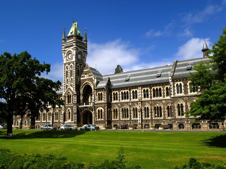 Universidad de Otago en Dunedin, Nueva Zelanda