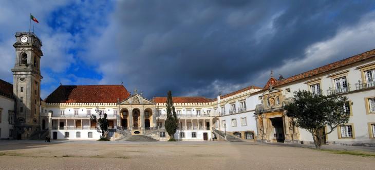 Universidad de Coimbra en Coimbra, Portugal