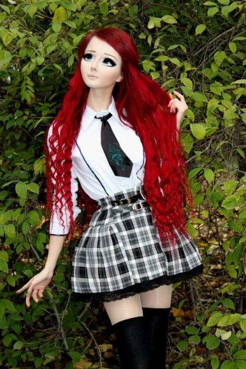 Anastasiya Shpagina uma menina que parece anime