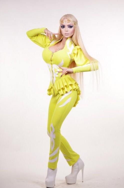Olga Oleynik la hermana de la Barbie