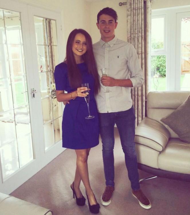 Keiran Cable y Jess Ferguson