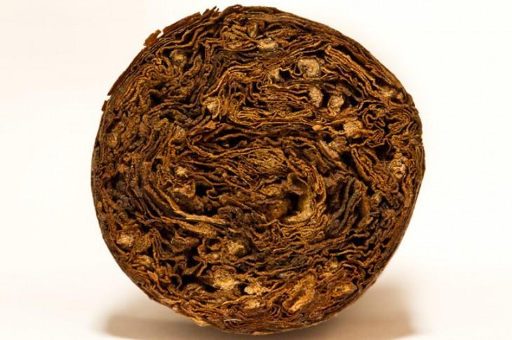 foto que muestra el interior de un cigarro
